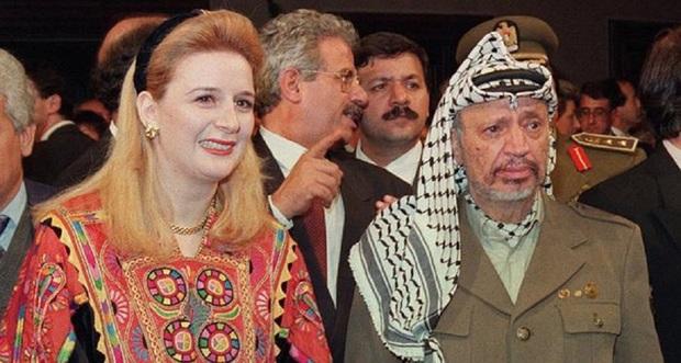 سهى عرفات أرملة رئيس السلطة الوطنية الفلسطينية الراحل ياسر عرفات