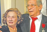 تزوج يوسف شاهين من الفرنسية كوليت أو كوكو كما تعود منادتها التي لازمته حتى وفاته