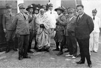 تم تنفيذ الحكم بمركز سلوق في 16 سبتمبر عام 1931 بحضور 20 ألف من أهالي المنطقة، وعدد كبير من المواطنين من مناطق مختلفة ليشهدوا نهاية رمز الجهاد الليبي