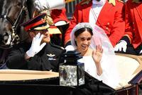 وفي 19 مايو 2018 تمت مراسم زواجهما في كنيسة سان جورج بقصر ويندسور