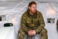 خدم الأمير هاري القوات البريطانية المسلحة لمدة عشر سنوات