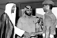 ونائب رئيس دولة الإمارات العربية المتحدة منذ قيام الاتحاد في 1971 وحتى وفاته