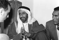 ولد في عام 1912 ونشأ في كنف أبيه الشيخ سعيد بن مكتوم آل مكتوم وهما من قبيلة آل بو فلاسة وترعرع في كنف والدته الشيخة حصة بنت المر بن حريز