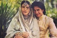 تزوج من الممثلة الشهيرة «امريتا سينغ»، وكانت تكبره بـ 12 عامًا