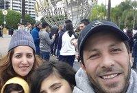 صورة جماعية لعائلة إياد نصار