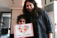 وفي 17 سبتمبر 2010 رزقت بابنتها الوحيدة «حنين».