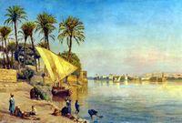 تزامن في هذا الوقت حدوث الشيء الذي انتظره المصريون 7 أعوام كاملة حيث ارتفع منسوب النيل من جديد وفاض الفيضان على البلاد لتبدأ مصر في تنفس الصعداء 