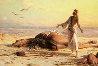 ذكر بعض المؤرخين أن المصريين في تلك الفترة كان اللحم يلامس عظامهم من شدة الجوع