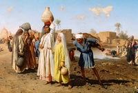 قام الجمالي بتنظيم قنوات الري المهملة منذ سنوات وقام بتقديم يد العون للفلاحين من أجل تنظيم زراعة المحاصيل للخلاص من المجاعة الضاربة وقام بتخفيف الأعباء عنهم