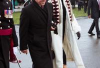 لقطات من حضور الملك عبد الله والملكة رانيا لحفل تخرج ابنتهم من الكاديمية العسكرية