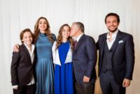 لقطات من احتفال الأسرة المالكة الأردنية بتخرج ابنتهم سلمى