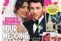 صور حفل زفافهم تصدرت غلاف مجلة People الأمريكية الشهيرة