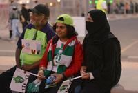 فتحت السعودية الباب للنساء لحضور فعاليات الأحداث الرياضية لأول مرة في تاريخ المملكة