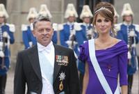 الملكة رانيا زوجة الملك عبد الله الثاني ملك الأردن