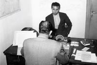 وفي سنة 1950 حكمت عليه المحكمة الفرنسية بالسجن المؤبد، وفر منه في  مارس عام 1952 إلى القاهرة