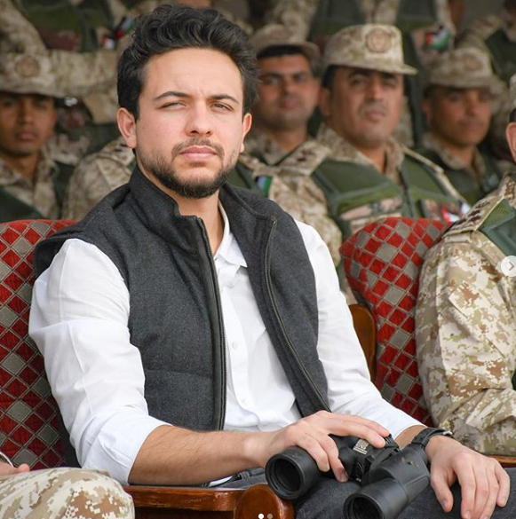 الأمير الحسين بن عبد الله الثاني ولي عهد المملكة الأردنية الهاشمية